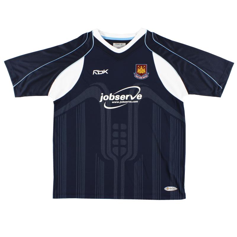 2006-07 West Ham Away Shirt XL