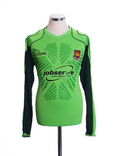 2006-07 West Ham Goalkeeper Shirt M