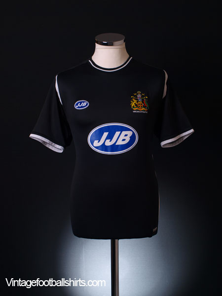 2006-07 Wigan Away Shirt S