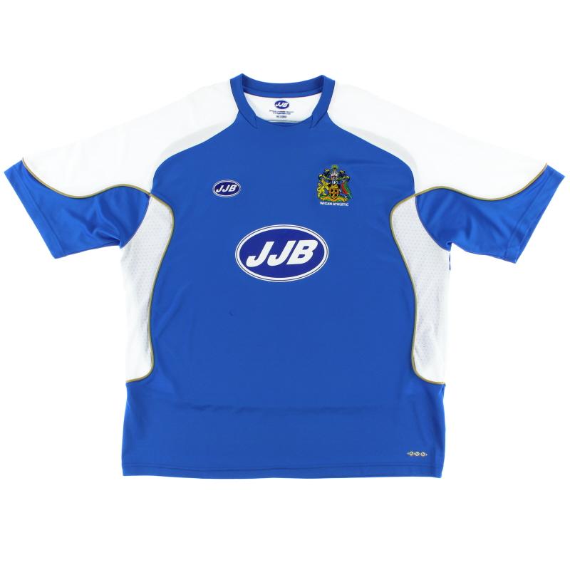 2006-07 Wigan Home Shirt XXL