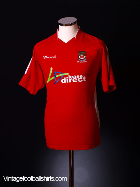 2006-07 Wrexham Home Shirt S