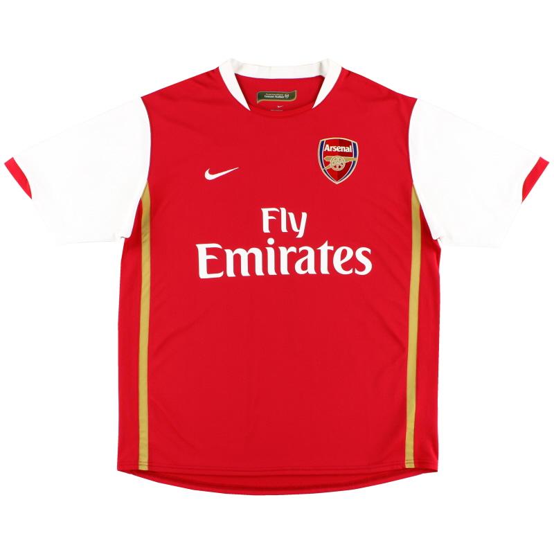 2006-08 Arsenal Home Shirt L.Boys - 146769-616