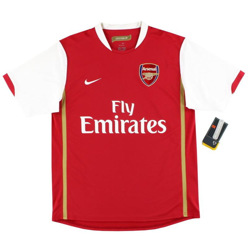2006-08 Arsenal Nike Home Shirt *w/tags* M - 146769-614