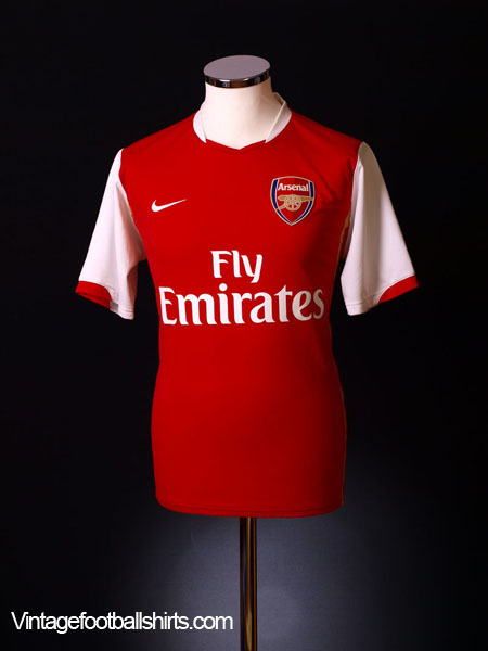2006-08 Arsenal Home Shirt L.Boys