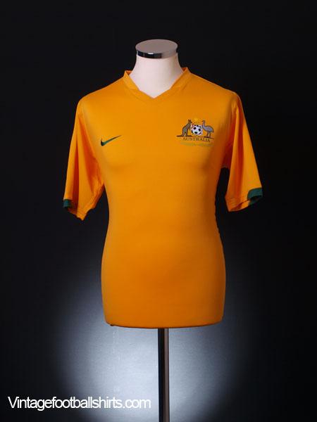 2006-08 Australia Home Shirt S