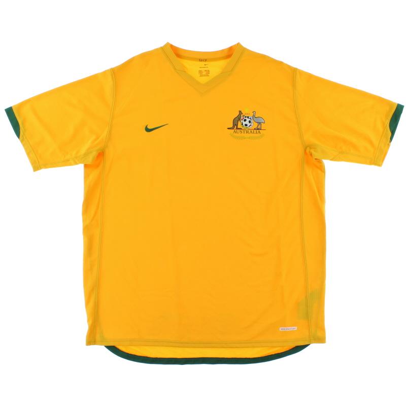 2006-08 Australia Home Shirt XL  - 106220