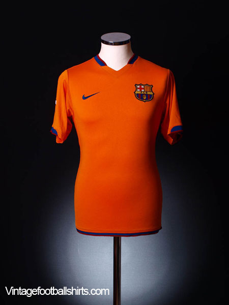 2006-08 Barcelona Away Shirt XL