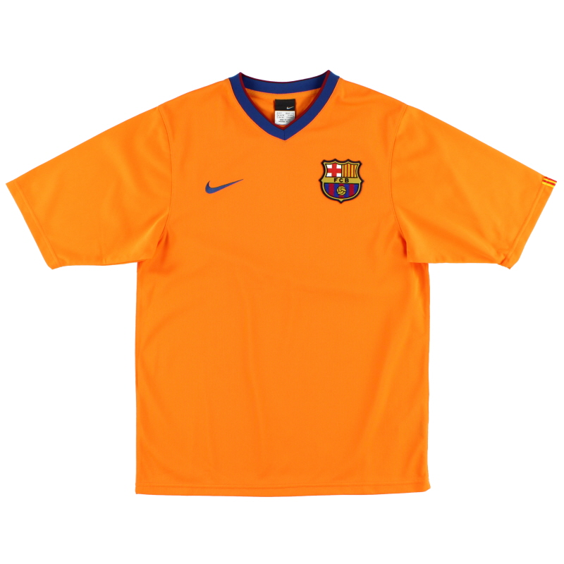 2006-08 Barcelona Basic Away Shirt L - 146984