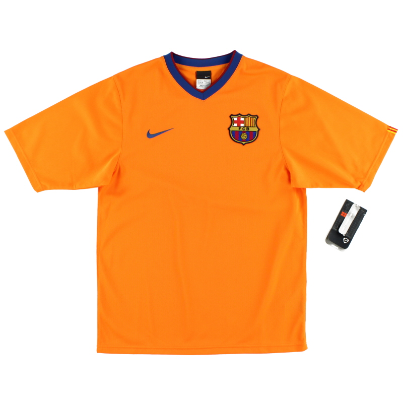 2006-08 Barcelona Basic Away Shirt *BNWT* S - 146984