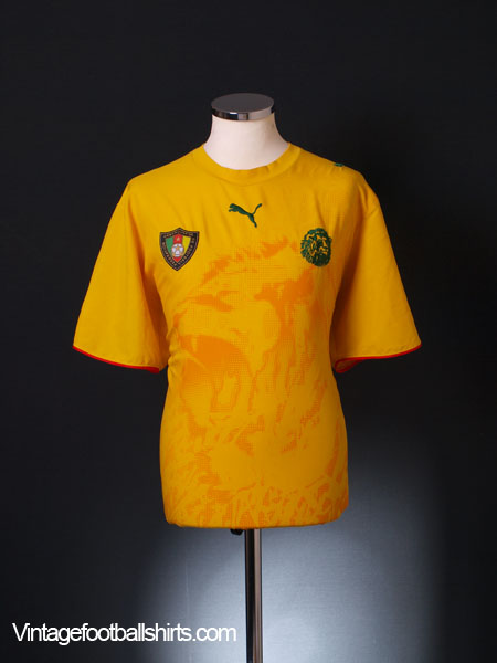 2006-08 Cameroon Away Shirt XL