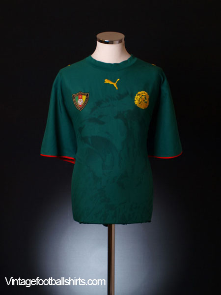 2006-08 Cameroon Home Shirt *Mint* M