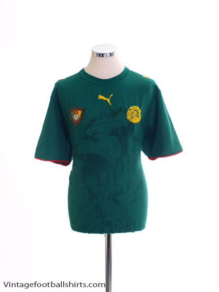 2006-08 Cameroon Home Shirt *Mint* L