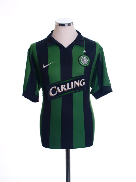 2006-08 Celtic Away Shirt L.Boys
