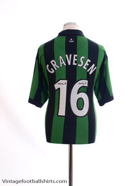 2006-08 Celtic Away Shirt Gravesen #16 XL