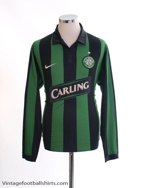 2006-08 Celtic Away Shirt L/S M