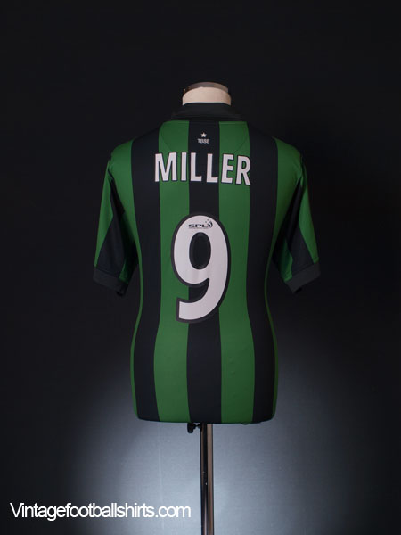 2006-08 Celtic Away Shirt Miller #9 L