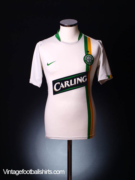 2006-08 Celtic European Shirt M
