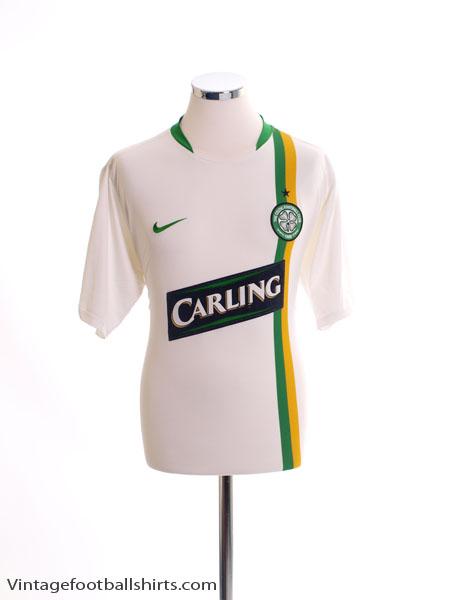 2006-08 Celtic European Shirt L