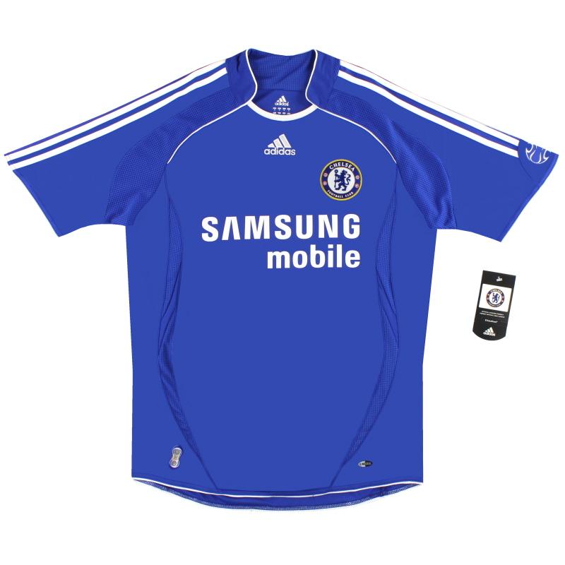 2006-08 Chelsea adidas Home Shirt *BNIB* M - 061230