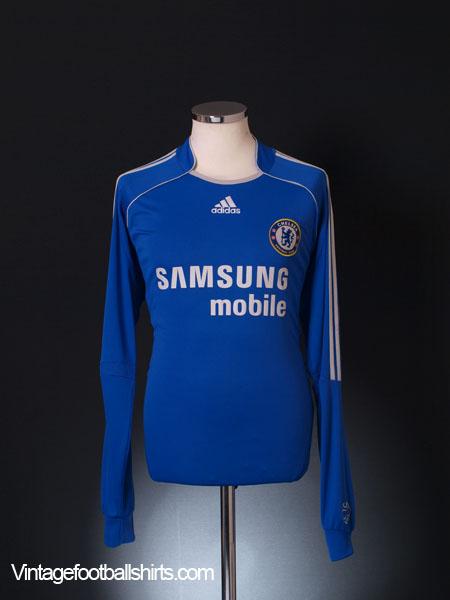2006-08 Chelsea Home Shirt L/S L