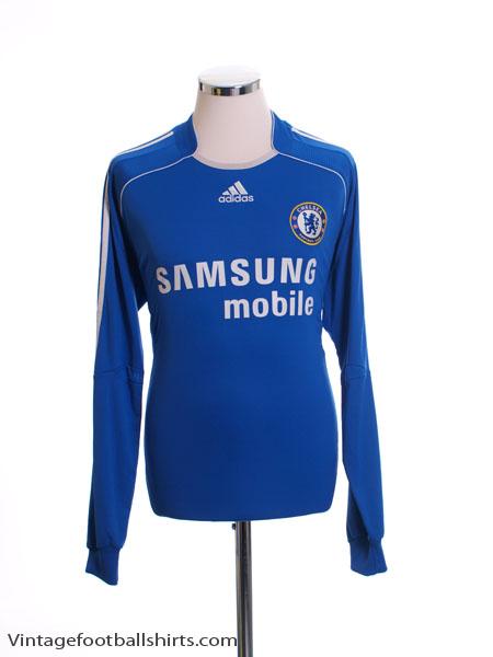 2006-08 Chelsea Home Shirt L/S M