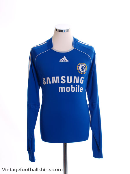 2006-08 Chelsea Home Shirt L/S *w/tags* L