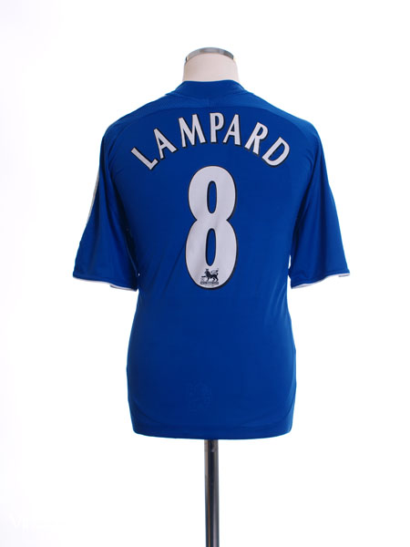 2006-08 Chelsea Home Shirt Lampard #8 M