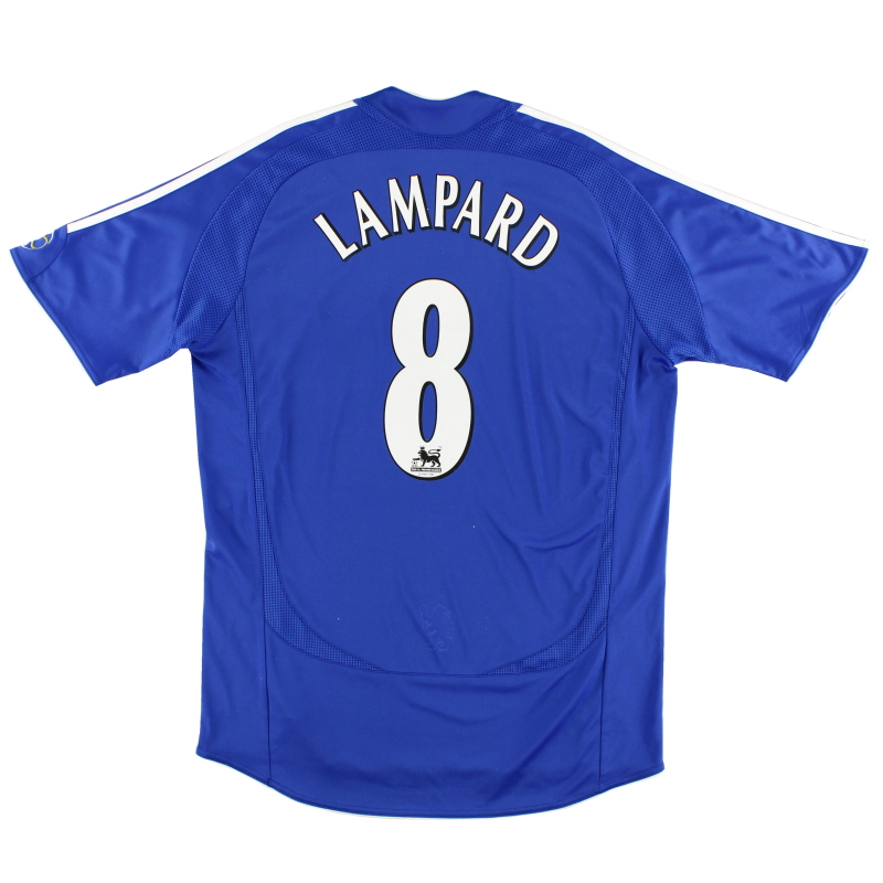 2006-08 Chelsea Home Shirt Lampard #8 M - 061230