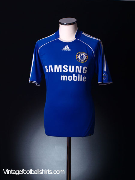 2006-08 Chelsea Home Shirt M
