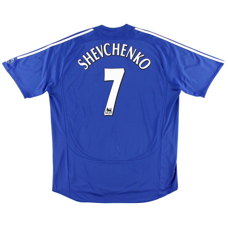 2006-08 Chelsea Home Shirt Shevchenko #7 XL.Boys - 061224