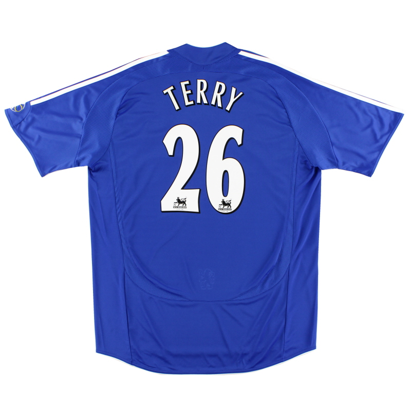 2006-08 Chelsea Home Shirt Terry #26 L - 061230