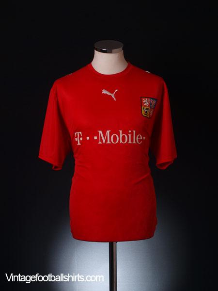2006-08 Czech Republic Home Shirt XL