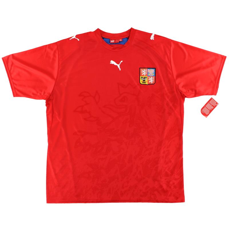 2006-08 Czech Republic Puma Home Shirt *w/tags* XL - 732049 07