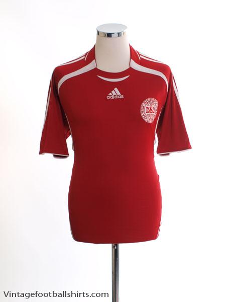 2006-08 Denmark Home Shirt *Mint* M