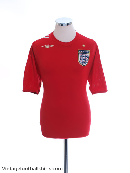 2006-08 England Away Shirt *Mint* M