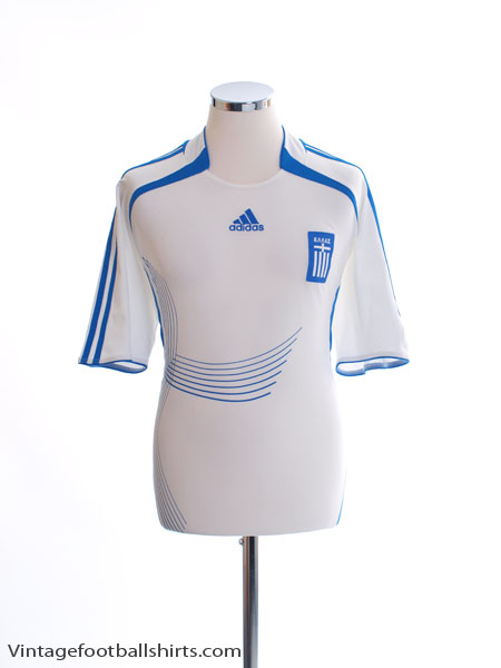 2006-08 Greece Away Shirt M