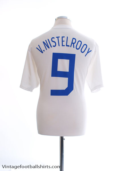 2006-08 Holland Away Shirt v. Nistelrooy #9 L