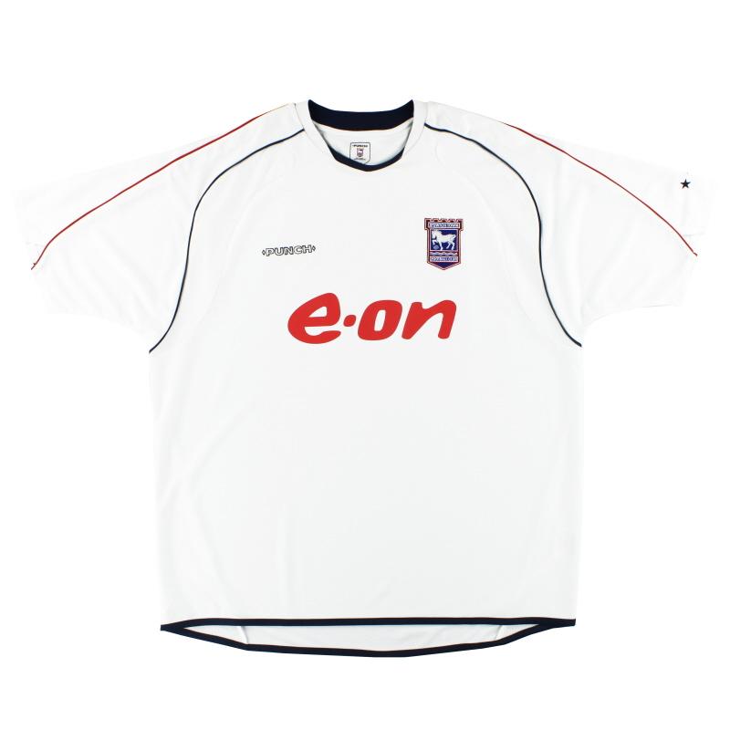 2006-08 Ipswich Punch Away Shirt XXL