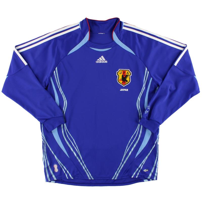 2006-08 Japan adidas Home Shirt L/S XL - 818190