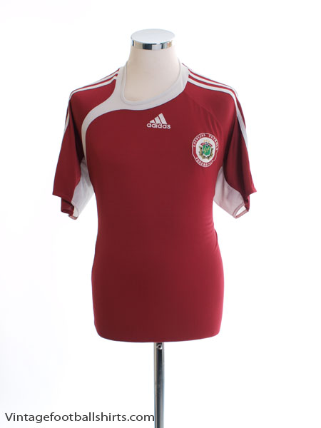 2006-08 Latvia Home Shirt XL - 072539