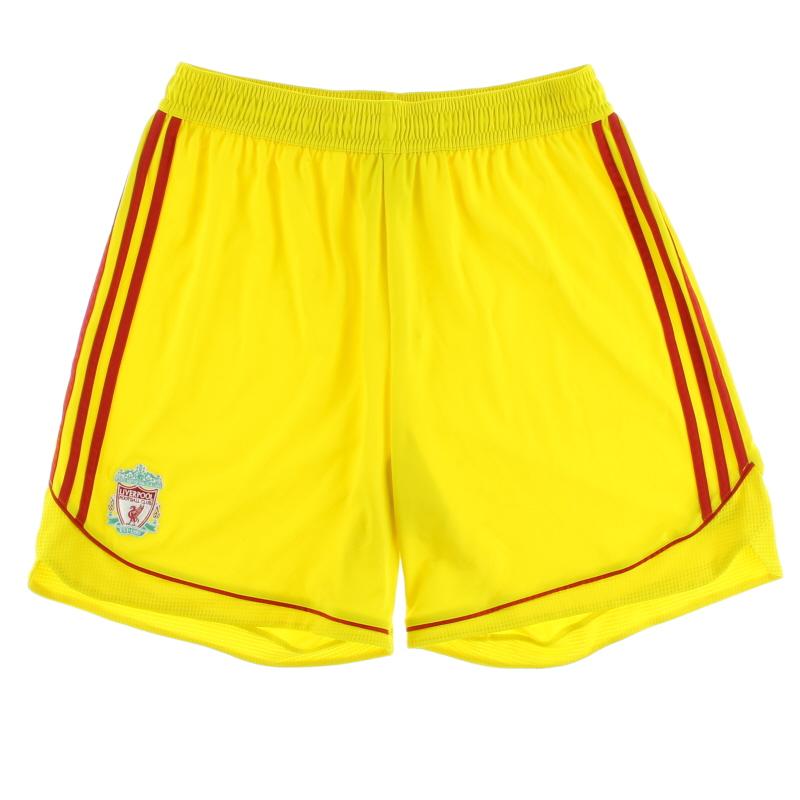 2006-07 Liverpool Away Shorts XXL - 053300