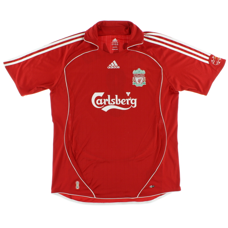 2006-08 Liverpool Home Shirt *Mint* S - 053327