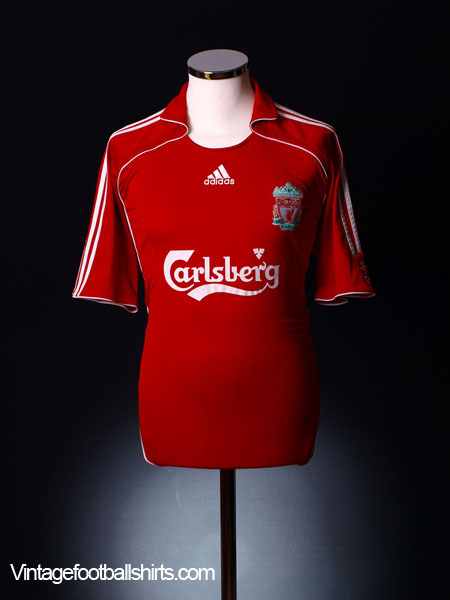2006-08 Liverpool Home Shirt M.Boys