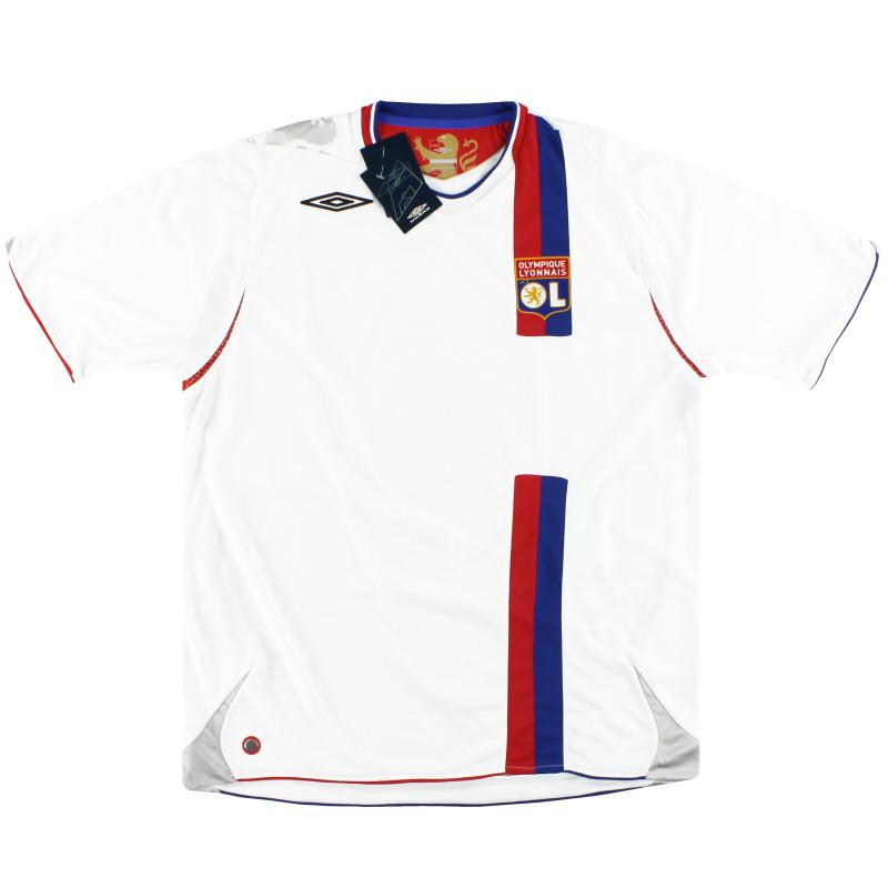 2006-08 Lyon Umbro Home Shirt *w/tags* XL - 2230080
