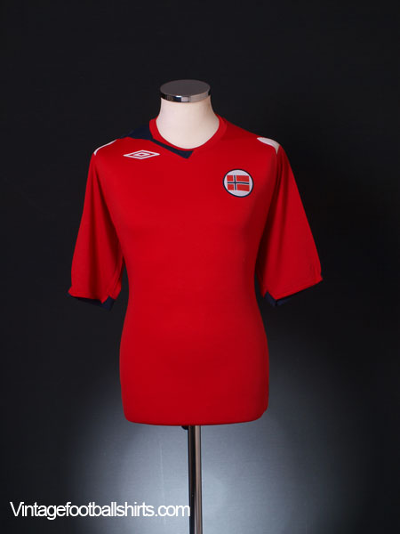 2006-08 Norway Home Shirt *BNIB* L