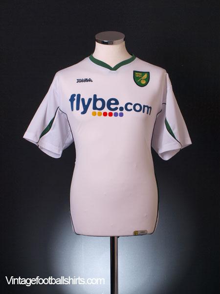 2006-08 Norwich City Away Shirt XL