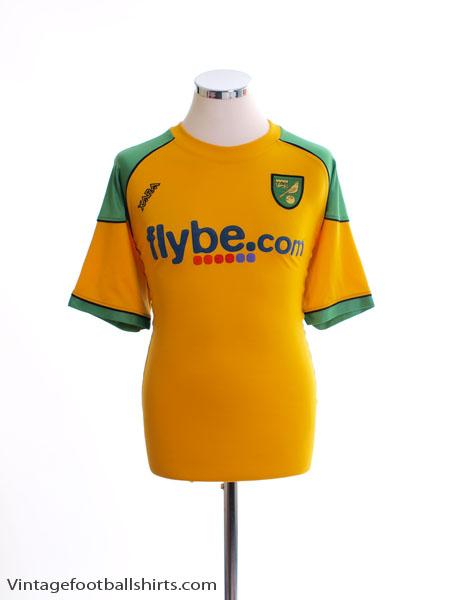 2006-08 Norwich City Home Shirt XL