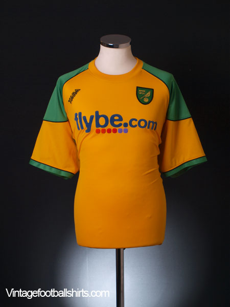 2006-08 Norwich City Home Shirt 4XL