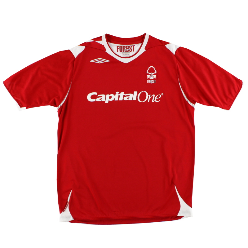 2006-08 Nottingham Forest Home Shirt L