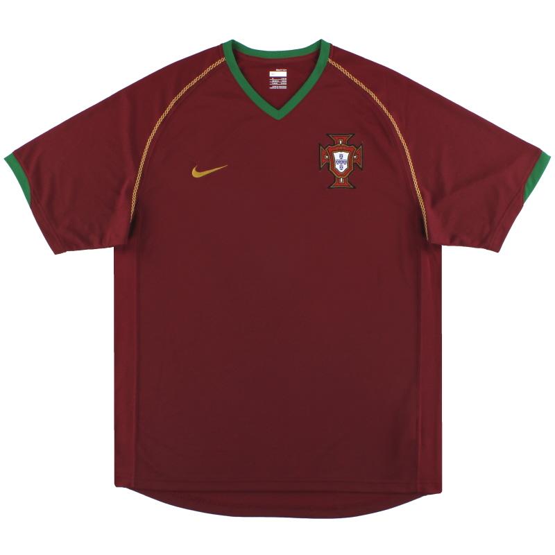 2006-08 Portugal Nike Home Shirt XL - 21402692